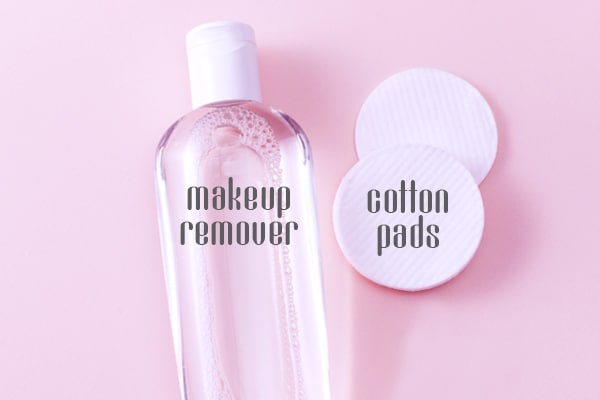 Makeup remover and pads